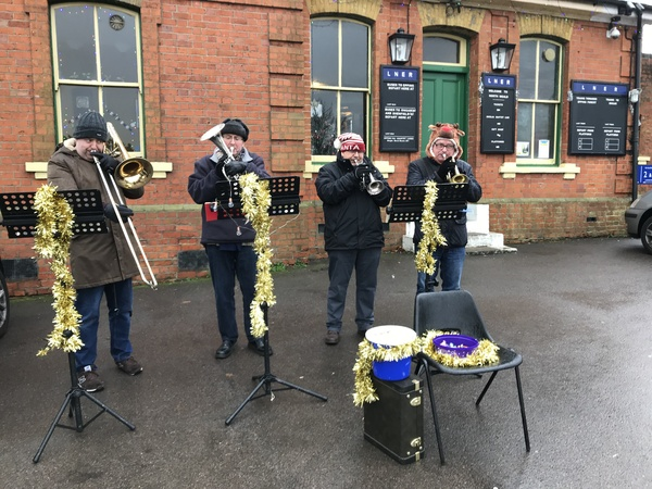 Brass Band at North Weald