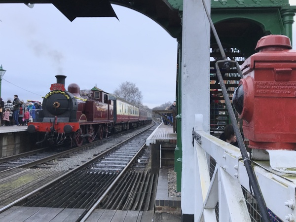 Met 1 with Santa Special train at North Weald