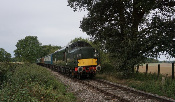 37029 between North Weald and Ongar