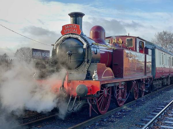 Santa's special Train at North Weald