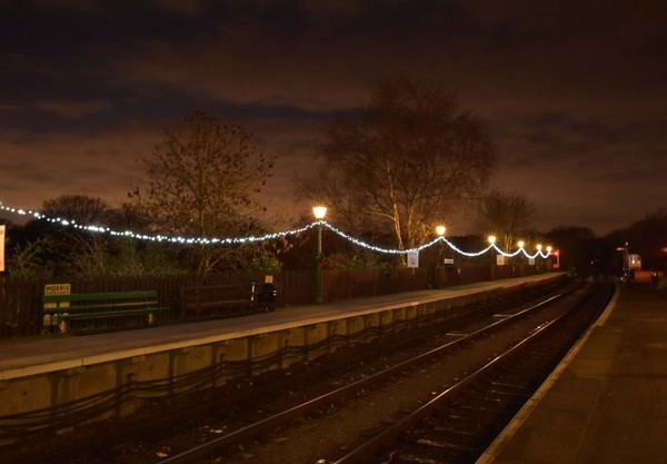A festive North Weald station