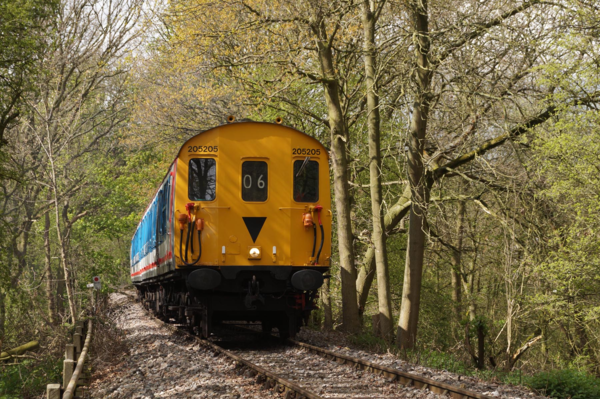 Trains terminate at Epping Forest