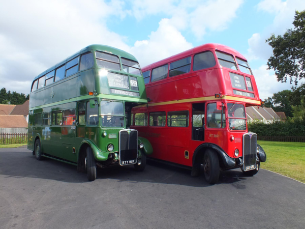 Buses at North Weald