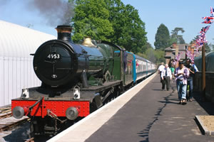 Steam Train at Ongar