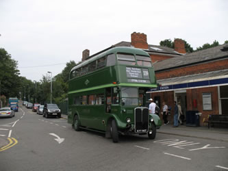 Route 339 bus at Epping Station