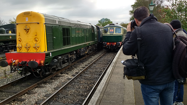 Class 20 and Class 33 - Diesel Gala