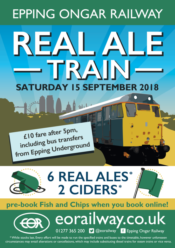 Real Ale Train - September