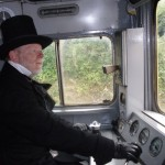 Victorian buyer drives his new train away...