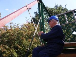 Bridge Engineer Doug at work